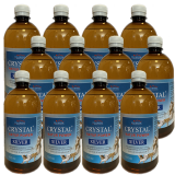 Crystal Silver Natur Power 6L (120 zile) Pachet 12 x 500ml
