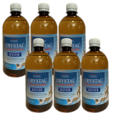 Crystal Silver Natur Power 3L (60 zile) Pachet 6x500ml